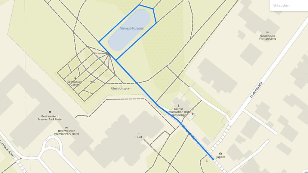 Streckenplan Bambini 400m